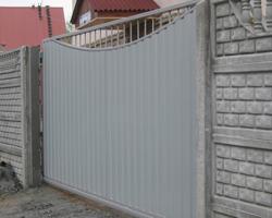 Распашные ворота цена Воронеж